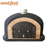 SUPERIOR WOOD FIRED PIZZA OVEN BLACK 90CM-100CM (1)
